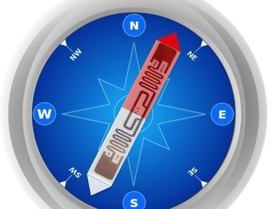 RF-Compass: Robot Object Manipulation Using RFIDs