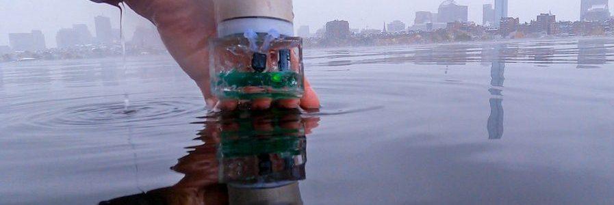 Underwater Backscatter Localization: Toward a Battery-Free Underwater GPS